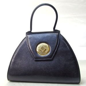 Authentic GIVENCHY SACS Handbag Leather